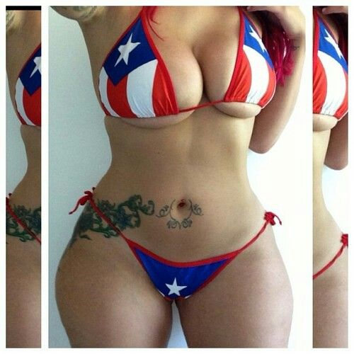 Was thick curvy puerto rican women in bikini