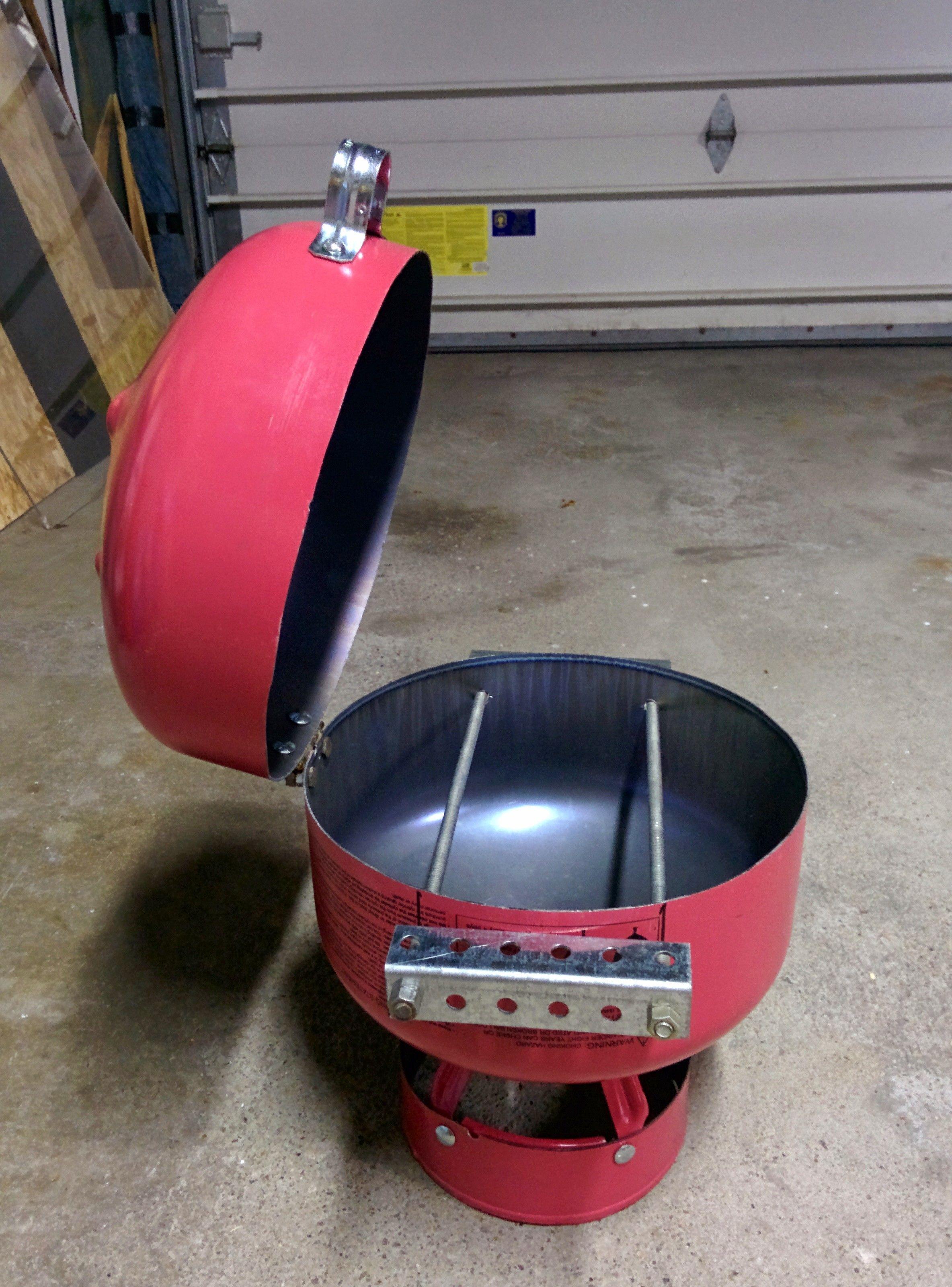 Helium tank grill gas bottle bbq diy bbq propane tank