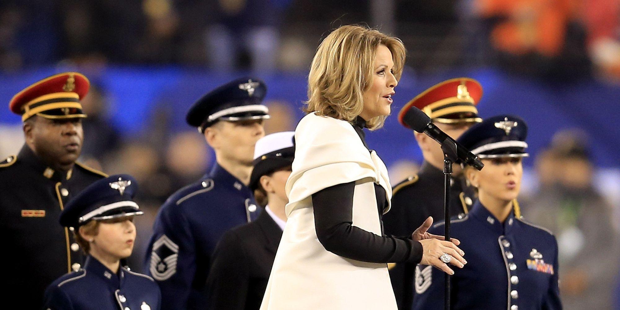 Opera Singer Stuns With National Anthem
