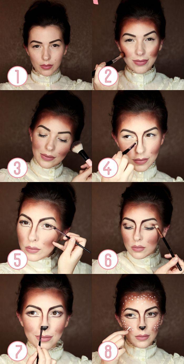 ▷ 1001 + ideas creativas para un simple maquillaje de Halloween – Pinterest