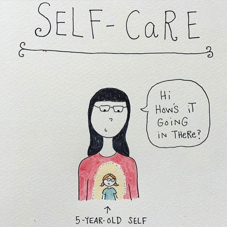 Love this ❤ (by @bymariandrew) rp @ramonaforgirls #selfcare
