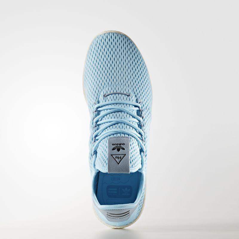 Pharrell Williams x Adidas azul tenis Hu azul Adidas gris. c61436