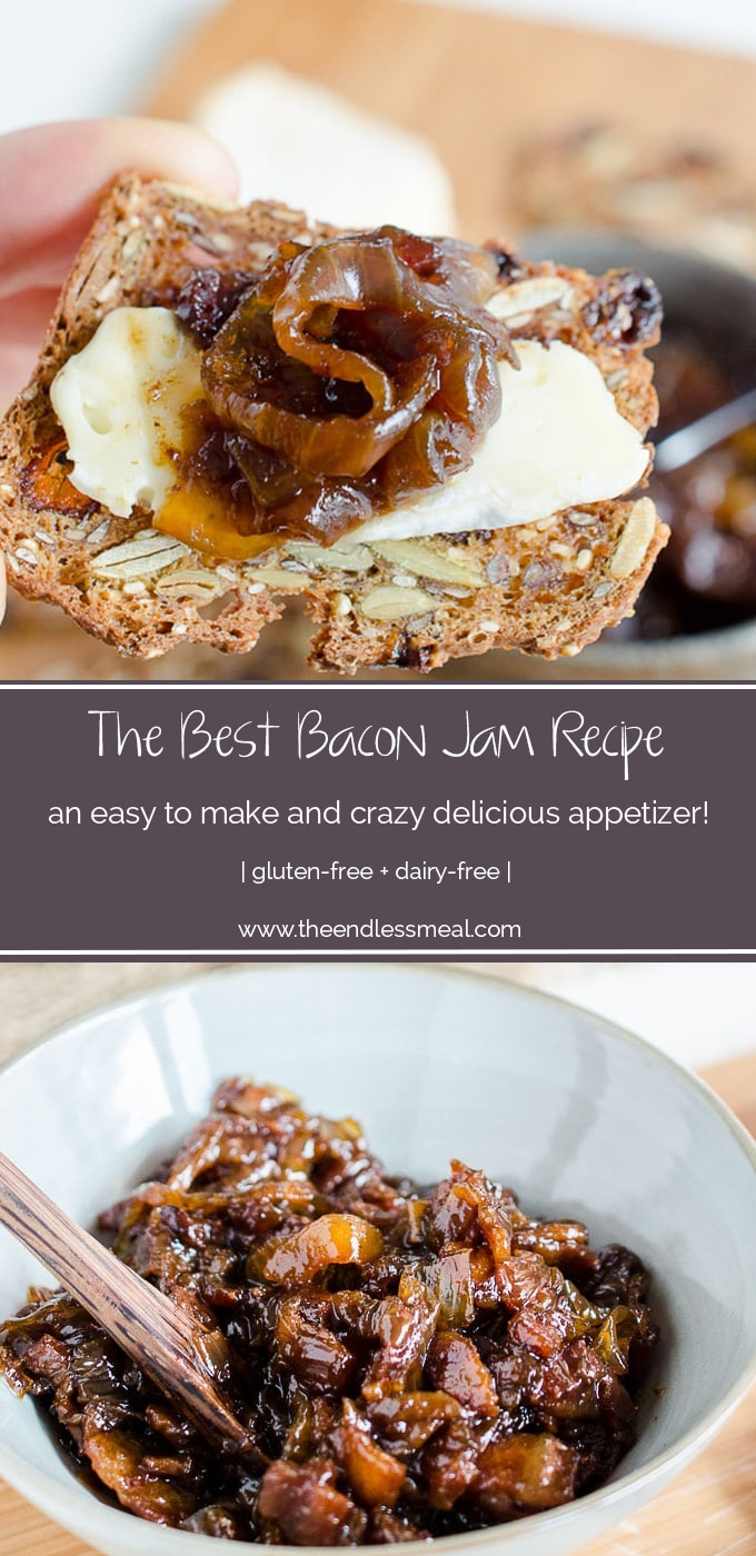 This Bacon Jam recipe is literally the best in the world. I know that's a HUGE statement, but I've