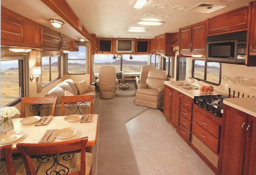 60 Amazing Luxury Travel Trailers Interior Design Ideas