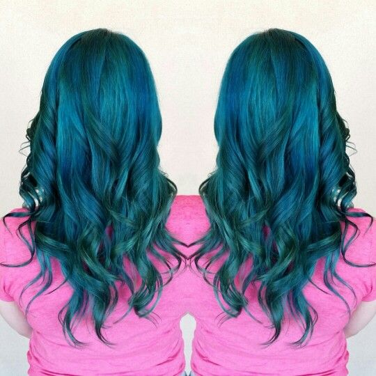 Blue And Teal Mermaid Hair With Joico Color Intensity Beauty By Bri
