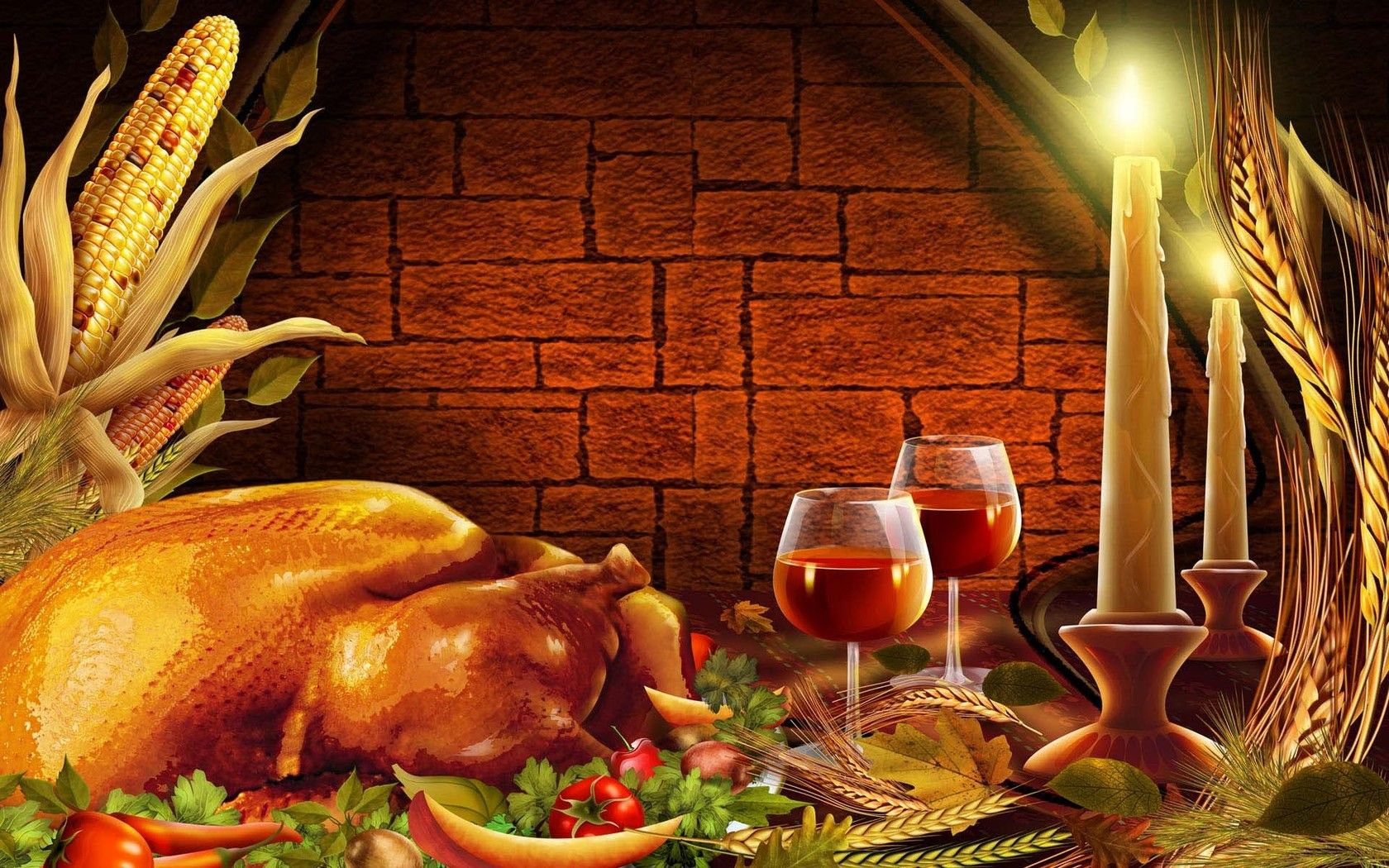 Thanksgiving Dinner Wallpaper With Images Thanksgiving Wallpaper