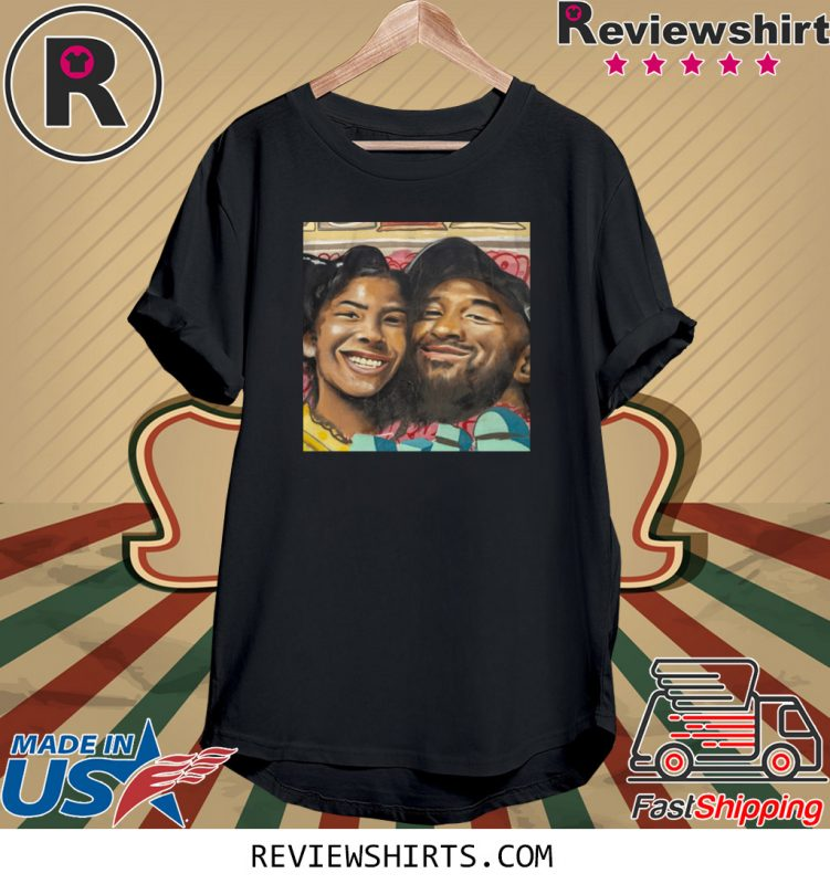 Kobe Bryant and Gigi Bryant Family Love TShirt in 2020
