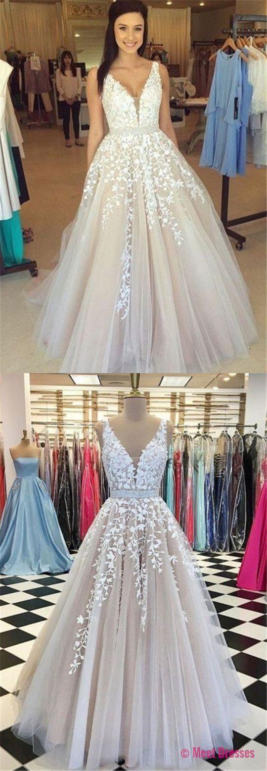 Unique prom dresseslace prom dressesprom dresseschampagne prom