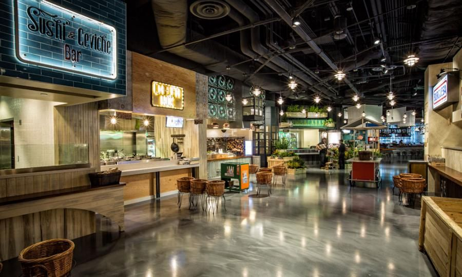 Latinicity Food Hall And Lounge An Interactive Experience