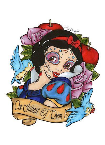 sugar skull coloring pages princess - photo#22
