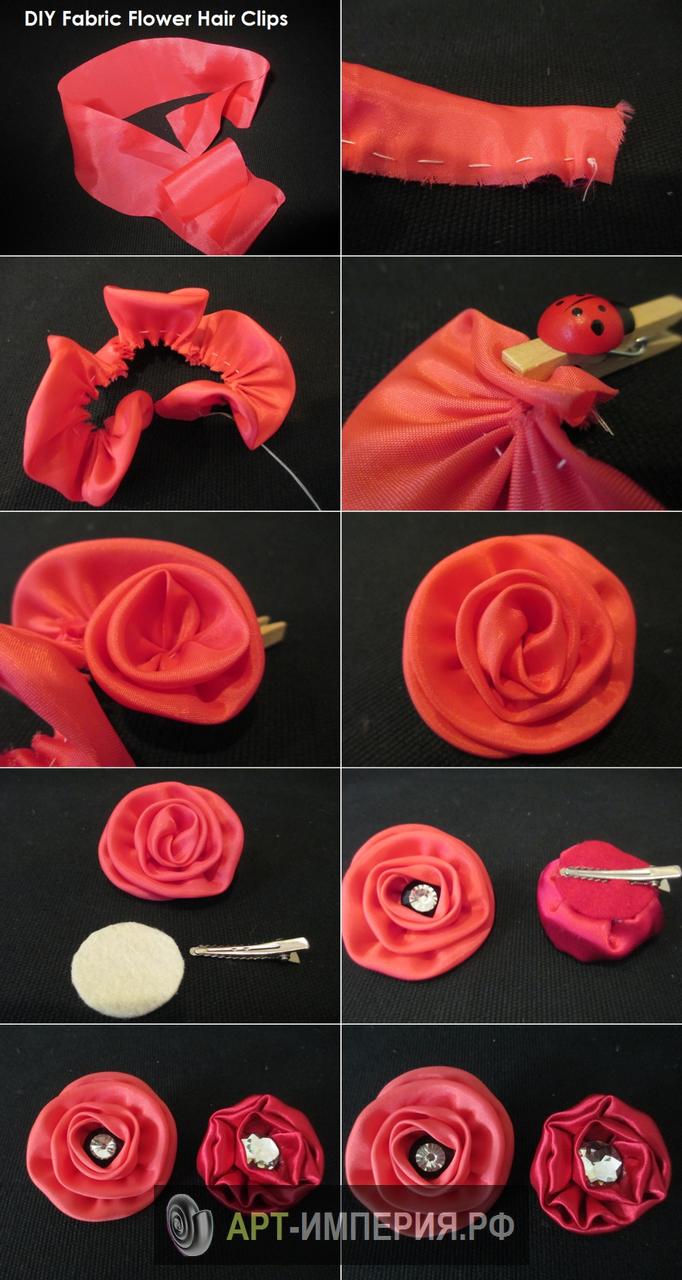 Брошь цветок из шифона своими руками фото 284