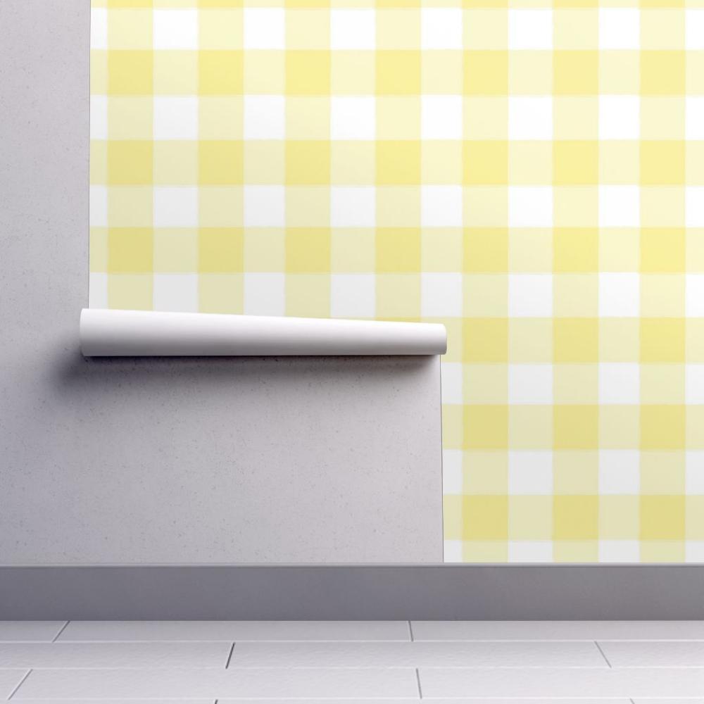 Pink and Yellow Plaid Desktop Wallpaper Desktop