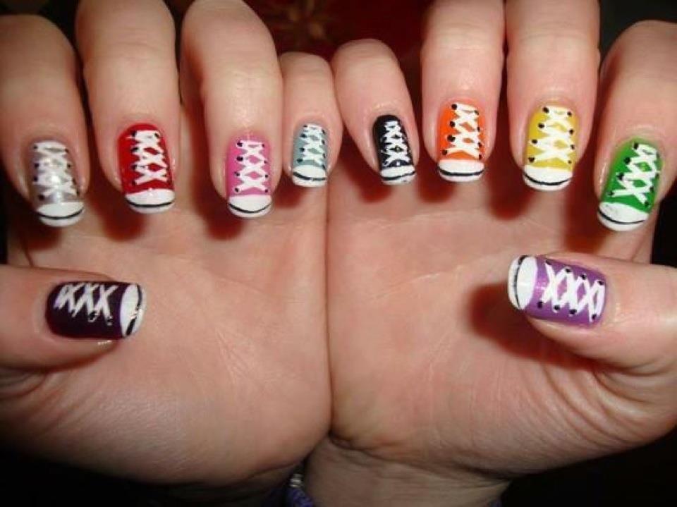 Very cool nail art!!  Uñas!  Pinterest
