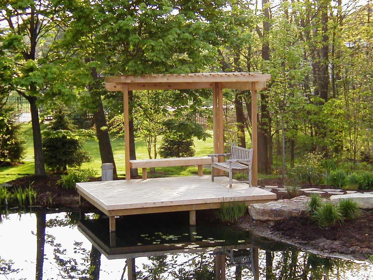 Pergola Over Dock Archadeck Outdoor Living Of Columbus