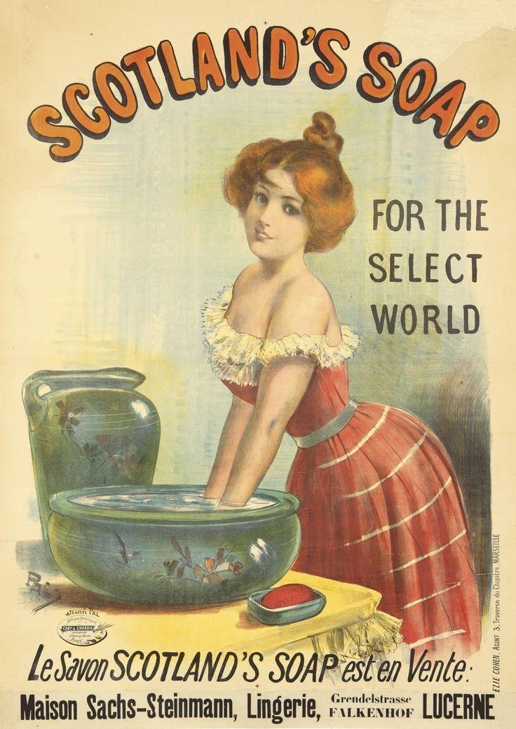 Pears Soap Framed Tela Art print Poster Bagno Retrò Vintage