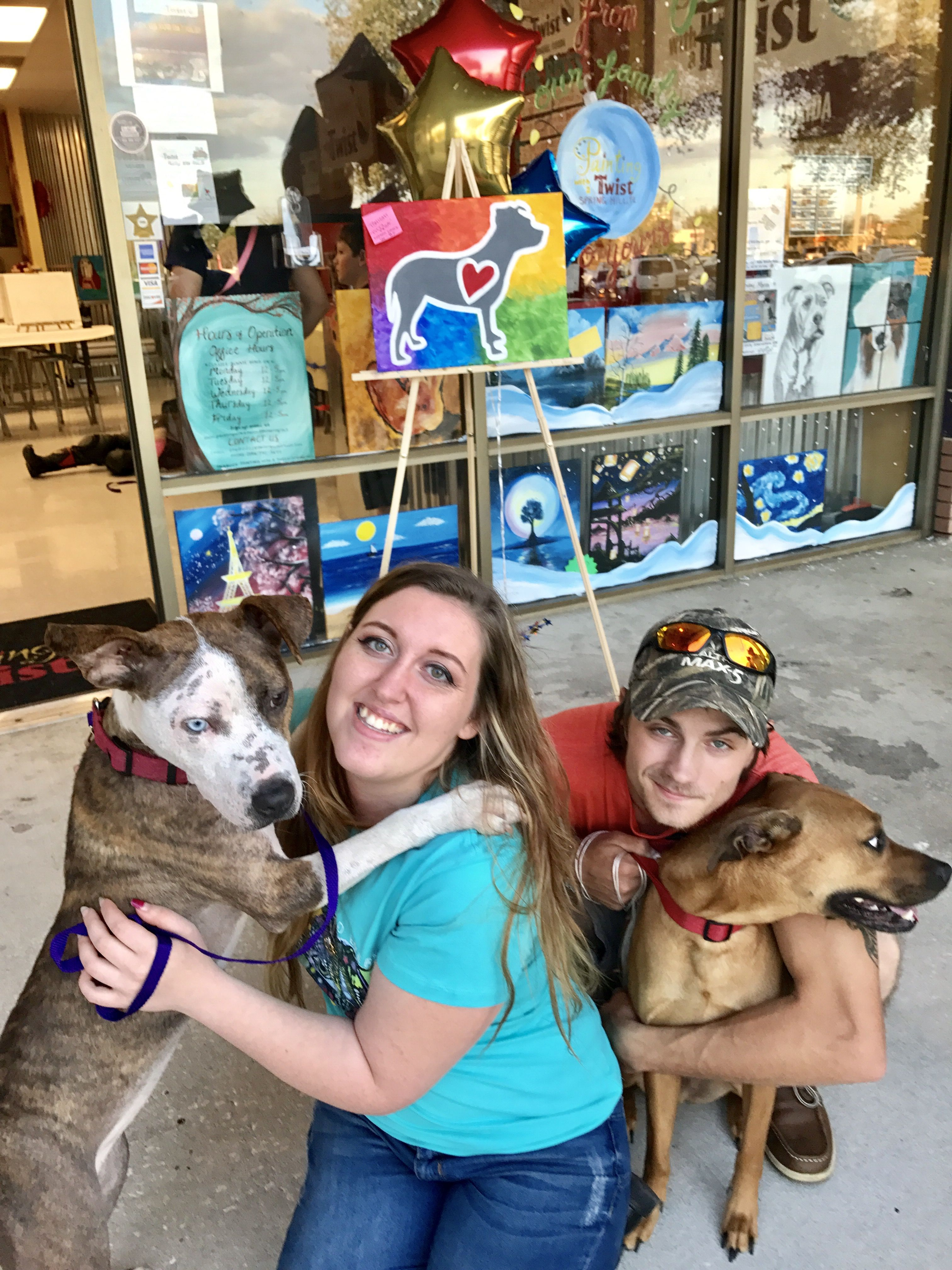 Paint Your Pet Adoption Event In Spring Hill Fl Adopt Rescue