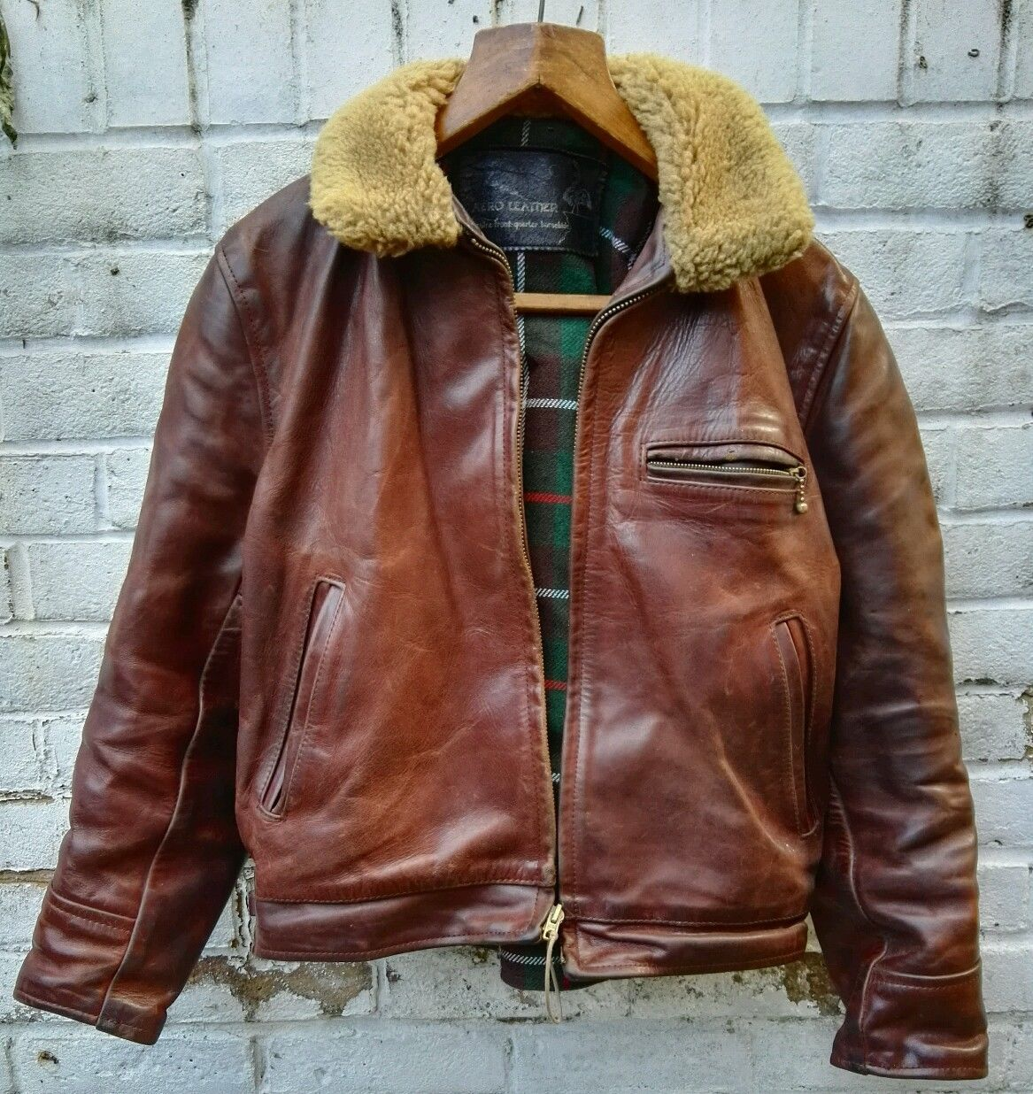 8ae0067e835 Vintage Aero Horsehide Leather
