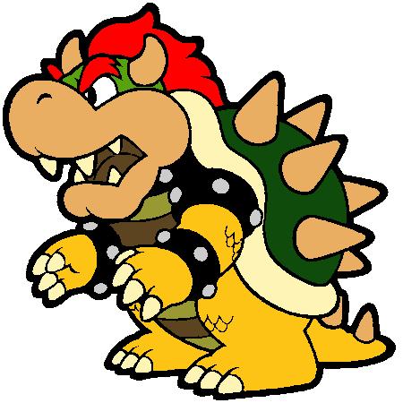 Bowser coloriage my blog - Mario kart wii gratuit ...