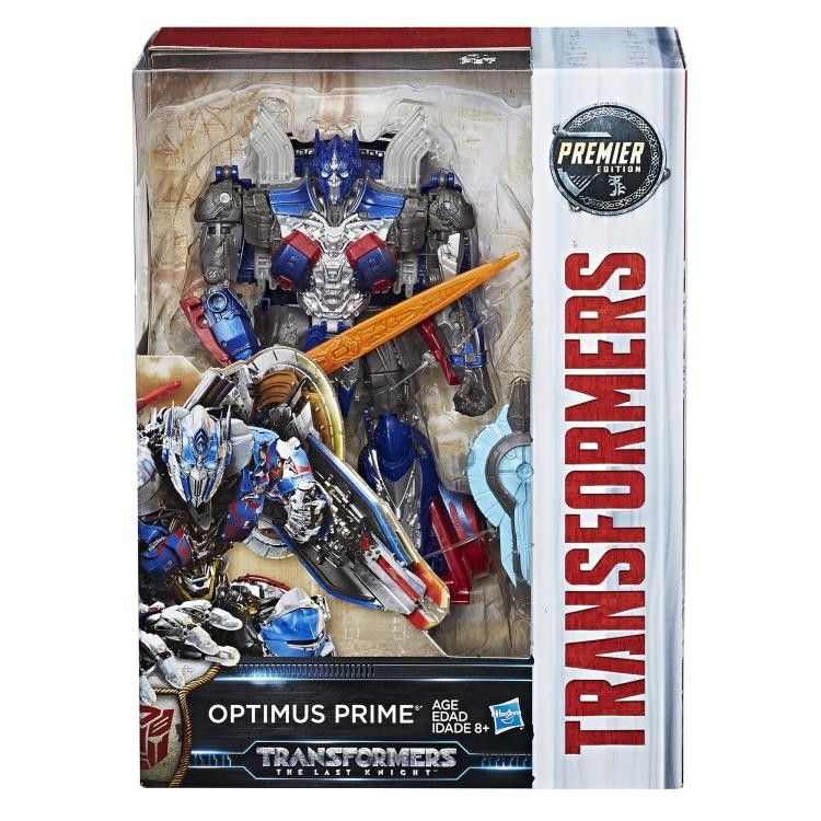 LARGE TRANSFORMERS 5 THE LAST KNIGHT OPTIMUS PRIME ACTION FIGURE TOYS XMAS GIFTS