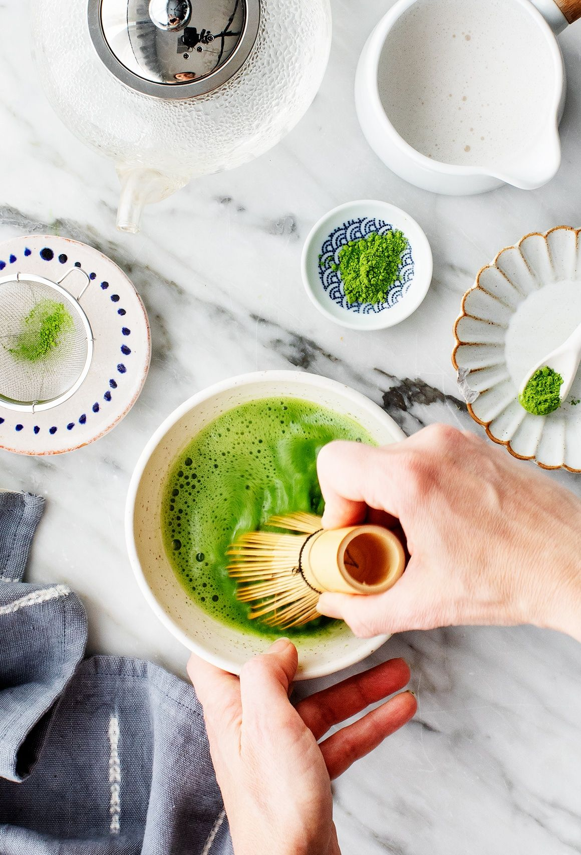 Made From Finely Ground Young Tea Leaves Matcha Green Tea Powder Is Packed With Antioxidants Learn How To T In 2020 Green Tea Recipes Matcha Green Tea Recipes Matcha
