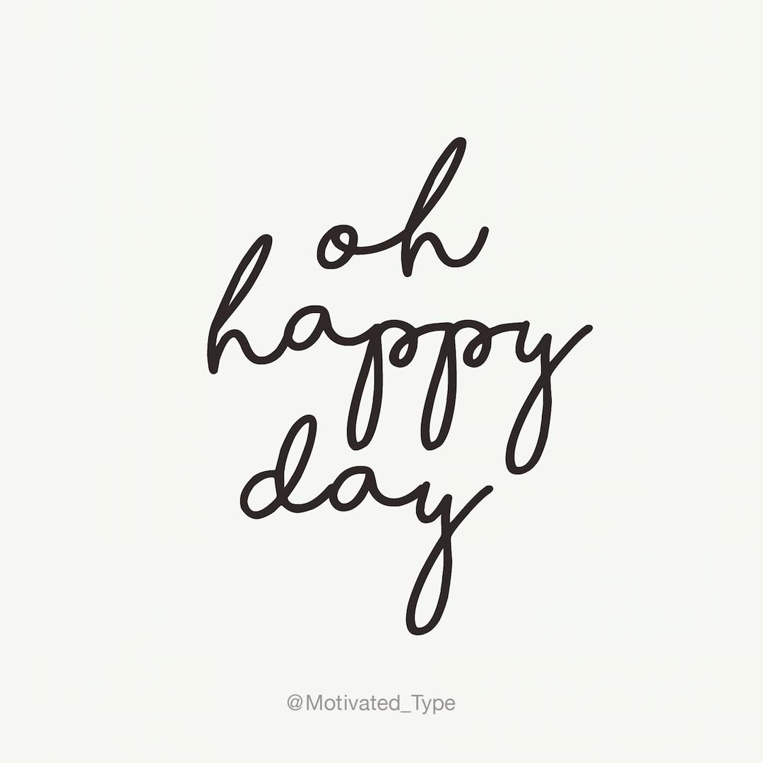 Oh #happy Day #happiness #gratitude #positivevibes #motivationalquote #beautiful #love fblog #homesweethome