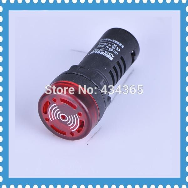 Pilot Lamp 5pcs Ad16 22sm Indication Light Signal Lamp Flash Buzzer 24v Led Indicator Lamp Furniture Accessories Accessories Electronic Products