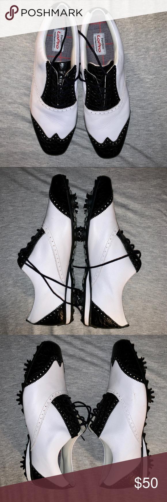 FootJoy LoPro women s golf shoes size 12 Women s FootJoy LoPro Gold Shoes. Size  12. Only worn 1-2 times. FootJoy Shoes Athletic Shoes fa17b9a30