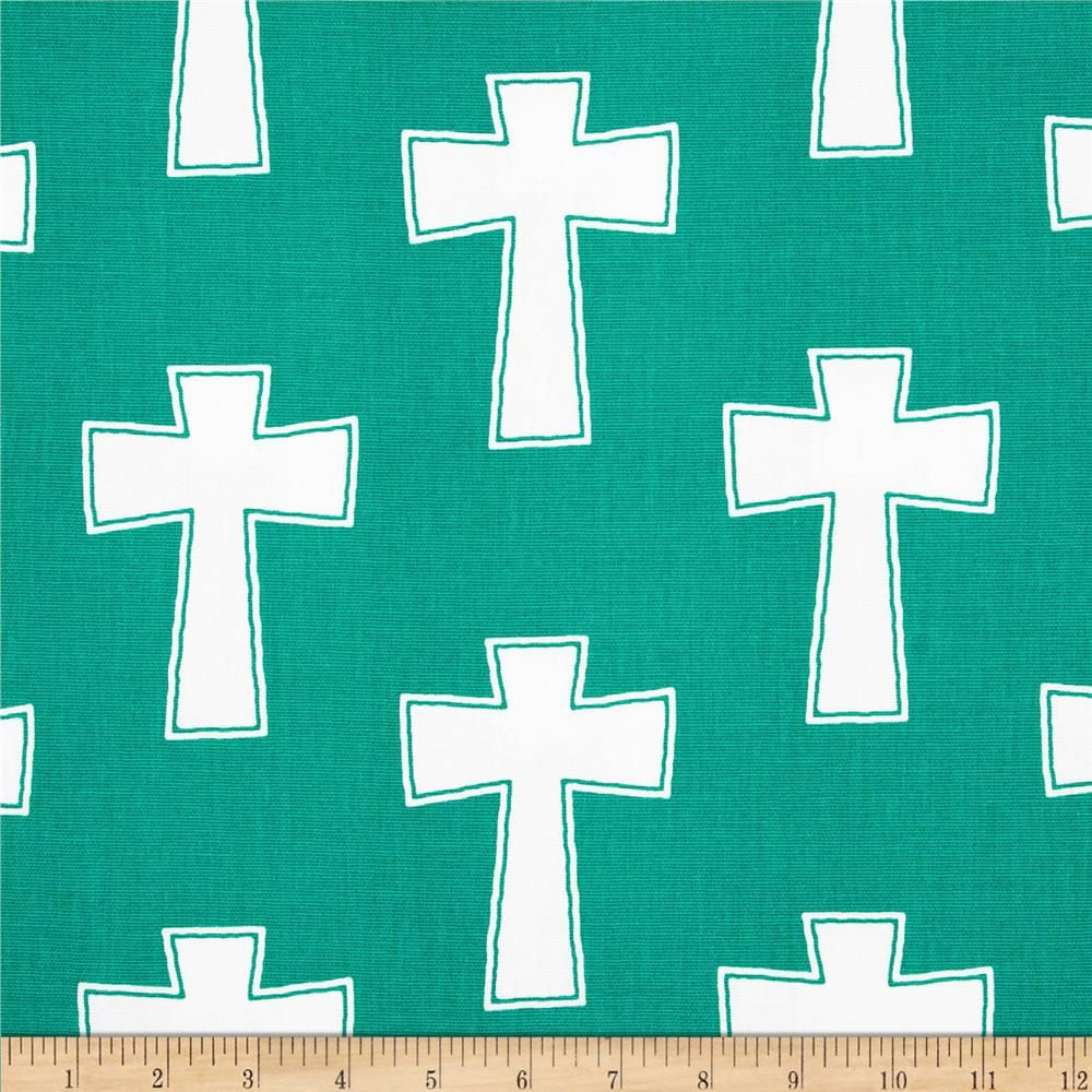 Screen printed on cotton duck; this versatile medium weight fabric is perfect for window accents (draperies, valances, curtains and swags), accent pillows, duvet covers and upholstery. Create handbags, tote bags, aprons and more. *Use cold water and mild detergent (Woolite). Drying is NOT recommended - Air Dry Only - Do not Dry Clean. Colors include white and jade green.