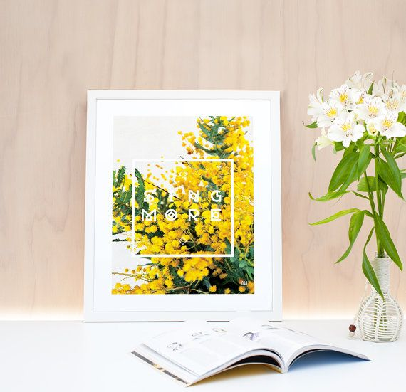 Finally getting these prints online check them out on Etsy Now! Botanical Photo Print and Quote by LightboxCreativeNZ on Etsy, $30.00