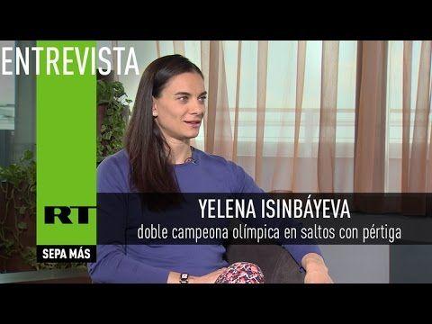 """Yelena Isinbáyeva: """"Parece que hay una orden para desacreditar a Rusia""""- Videos…"""