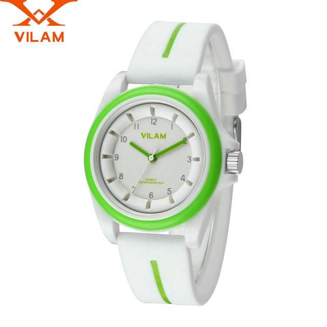 Simple Men Watch Black White Novelty Dial Wrist Watch Rubber Band Alloy Case Quartz Sport Watch Lxh Men's Watches
