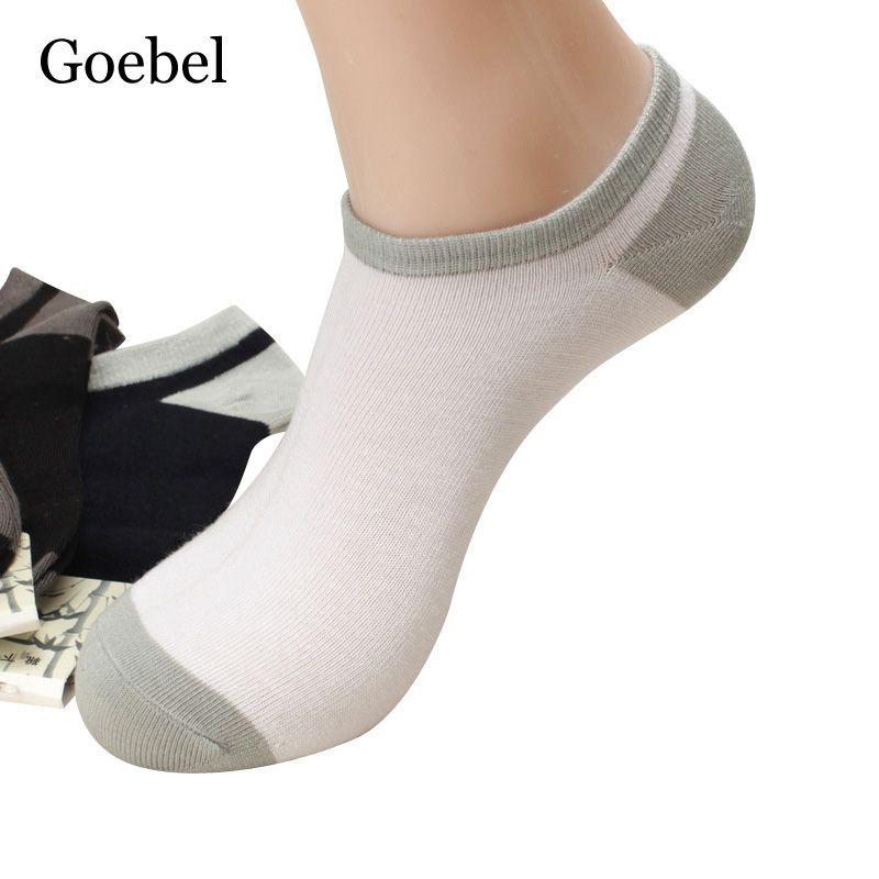 dc0dea52c874 Click to Buy    Goebel Socks Short Man Fashion Bamboo Fiber Summer Socks