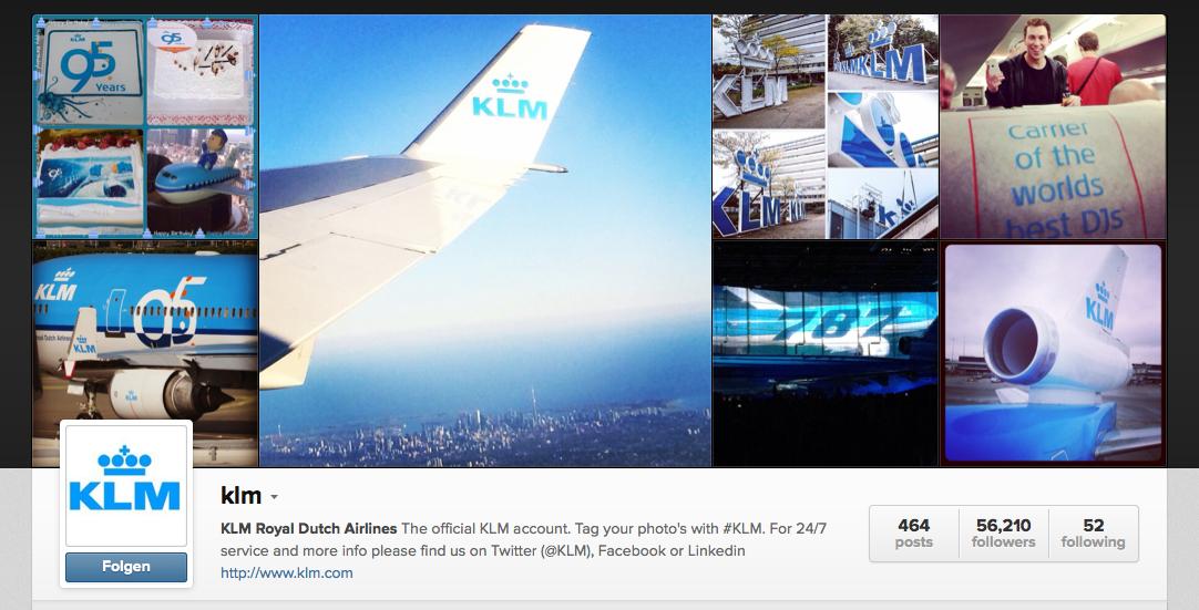 Die besten #Airlines auf #Instagram #BestPractice #Tools
