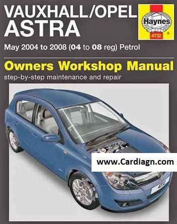 Vauxhall Opel Astra Petrol 2004 2008 Repair Manual Vauxhall Repair Manuals Opel