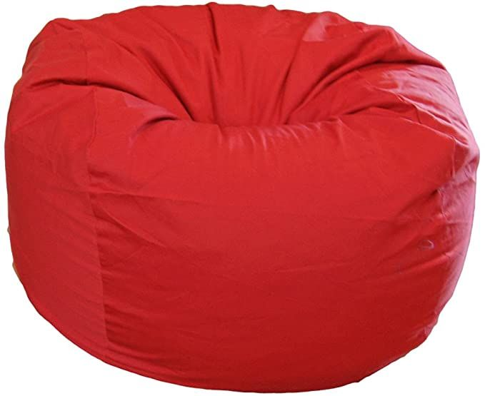 Ahh! Products Blue Organic Cotton Washable Large Bean Bag