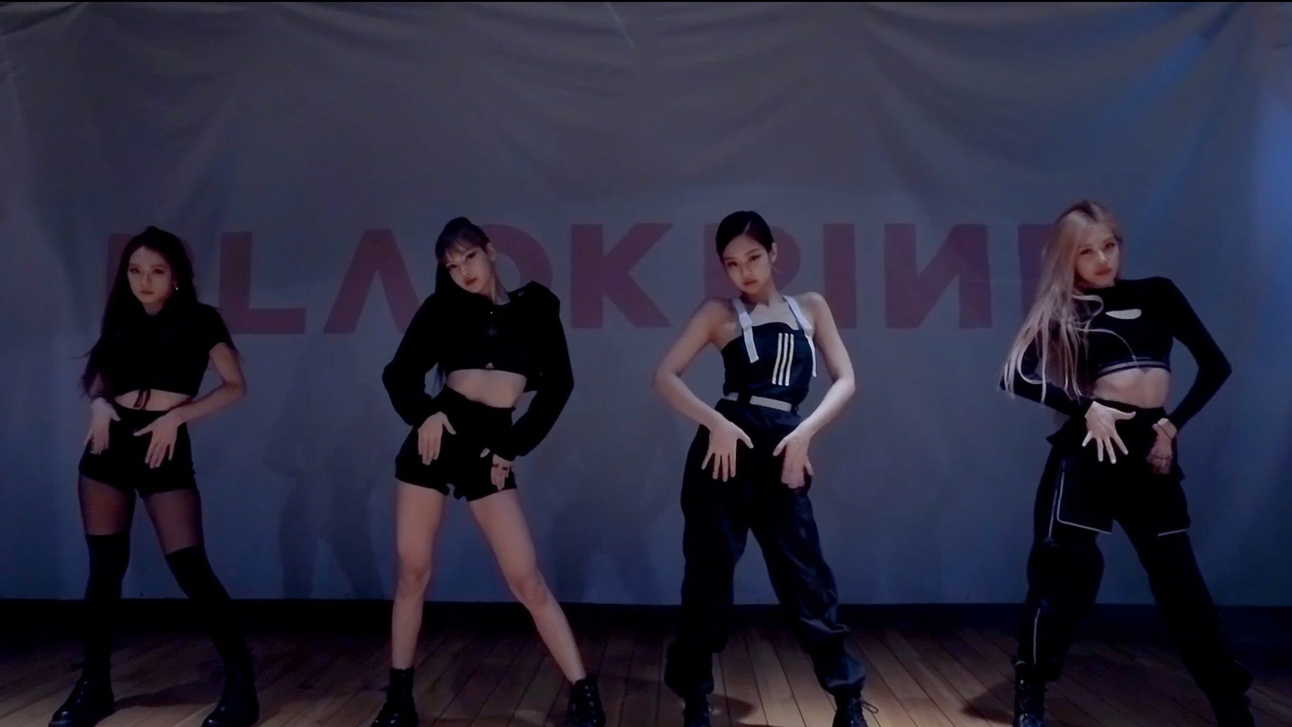 Black Pink Has Released A Video Of 8216 Kill This Love 8217 Choreography That Drives The Subject Eve Dance Outfits Practice Dance Practice Practice Outfits