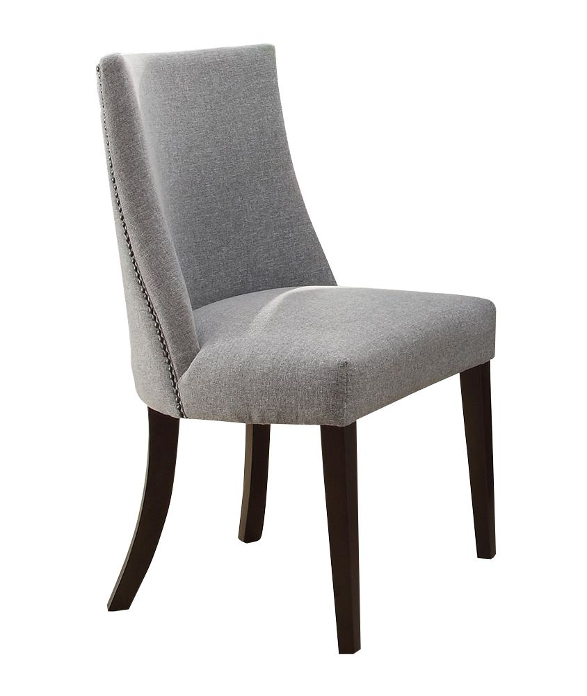 Best 2 Home Elegance Chicago Side Chairs Dining Chairs Gray 640 x 480