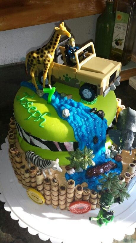 Wild Kratts Birthday Cake Carlas Creations In 2018 Pinterest