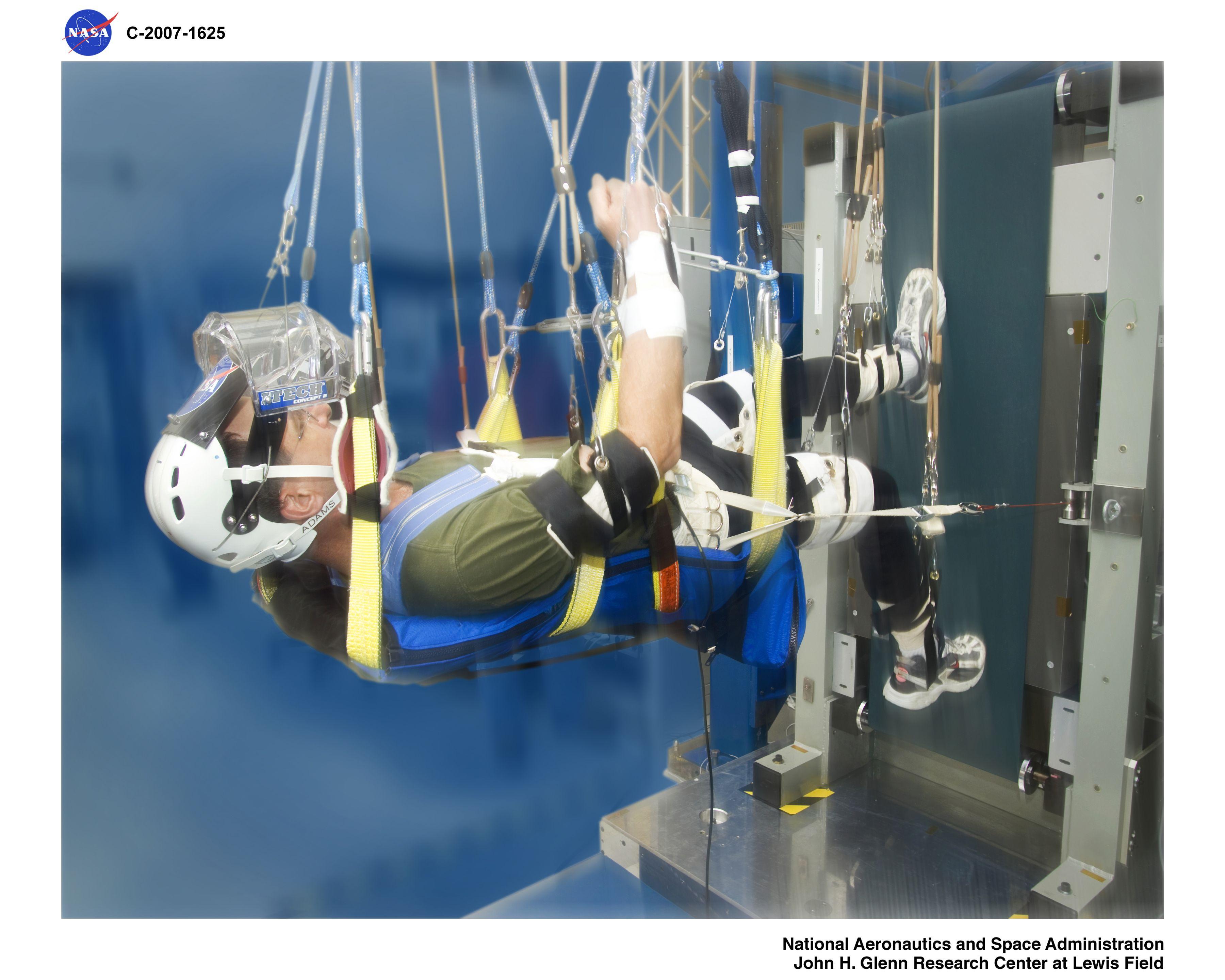 Enhanced Zero Gravity Locomotion (eZLS) : NASA/Glenn ...