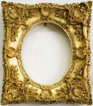 Porta Retrato Rustico Fotos E Modelos Decorando A Sala Antique Frames Ornate Picture Frames Antique Picture Frames