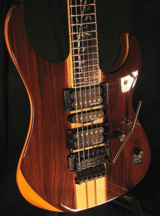 "The StormMaster"" RM5200 EBONY NECK THRU"