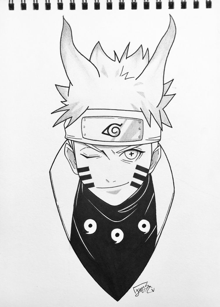 Naruto Six Paths Sage Mode By Stephaniessf Deviantart Com On