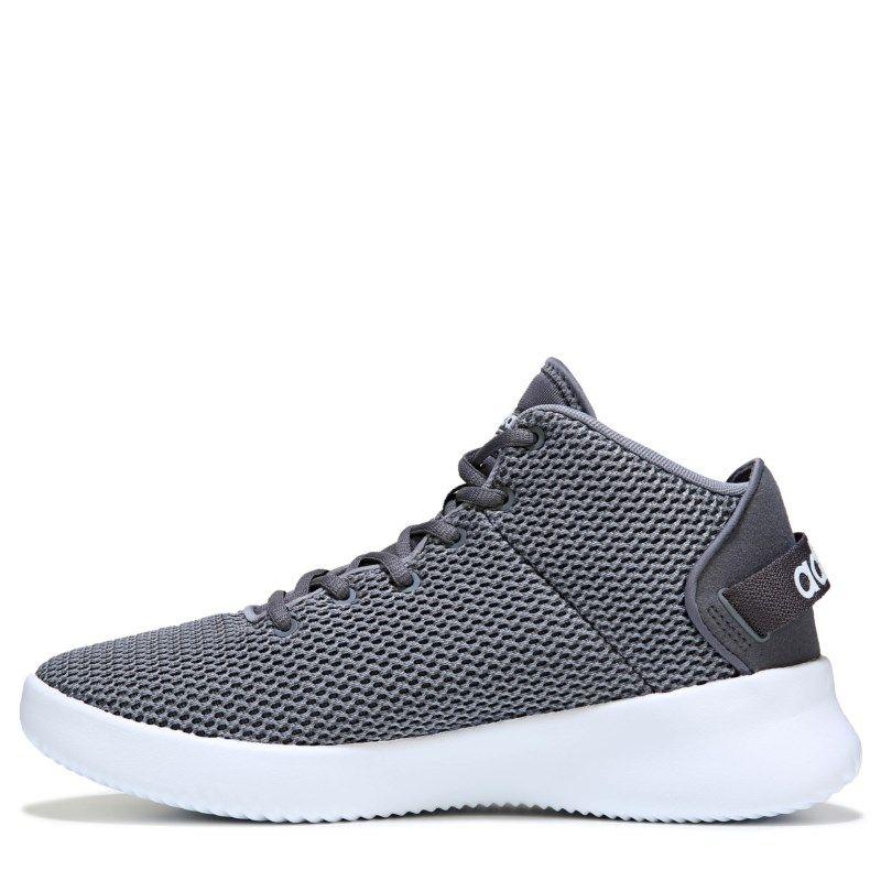 d3d18ade3d8 Adidas Men s Cloudfoam Refresh High Top Sneakers (Grey White)