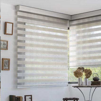 Estores noche y dia cinzia de cortinadecor fabricados a medida estores noche y dia pinterest - Tipos de persianas enrollables ...