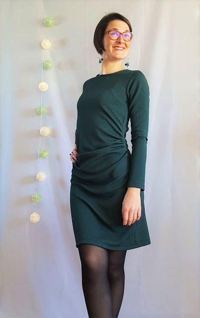 321c01c83f9 Ma petite robe verte   + TUTO INSIDE