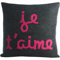 Je t' aime Pillow