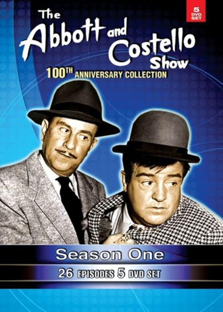 The Abbott & Costello Show Seas 1: 100th Anniv - NEW 5 DVDs RARE