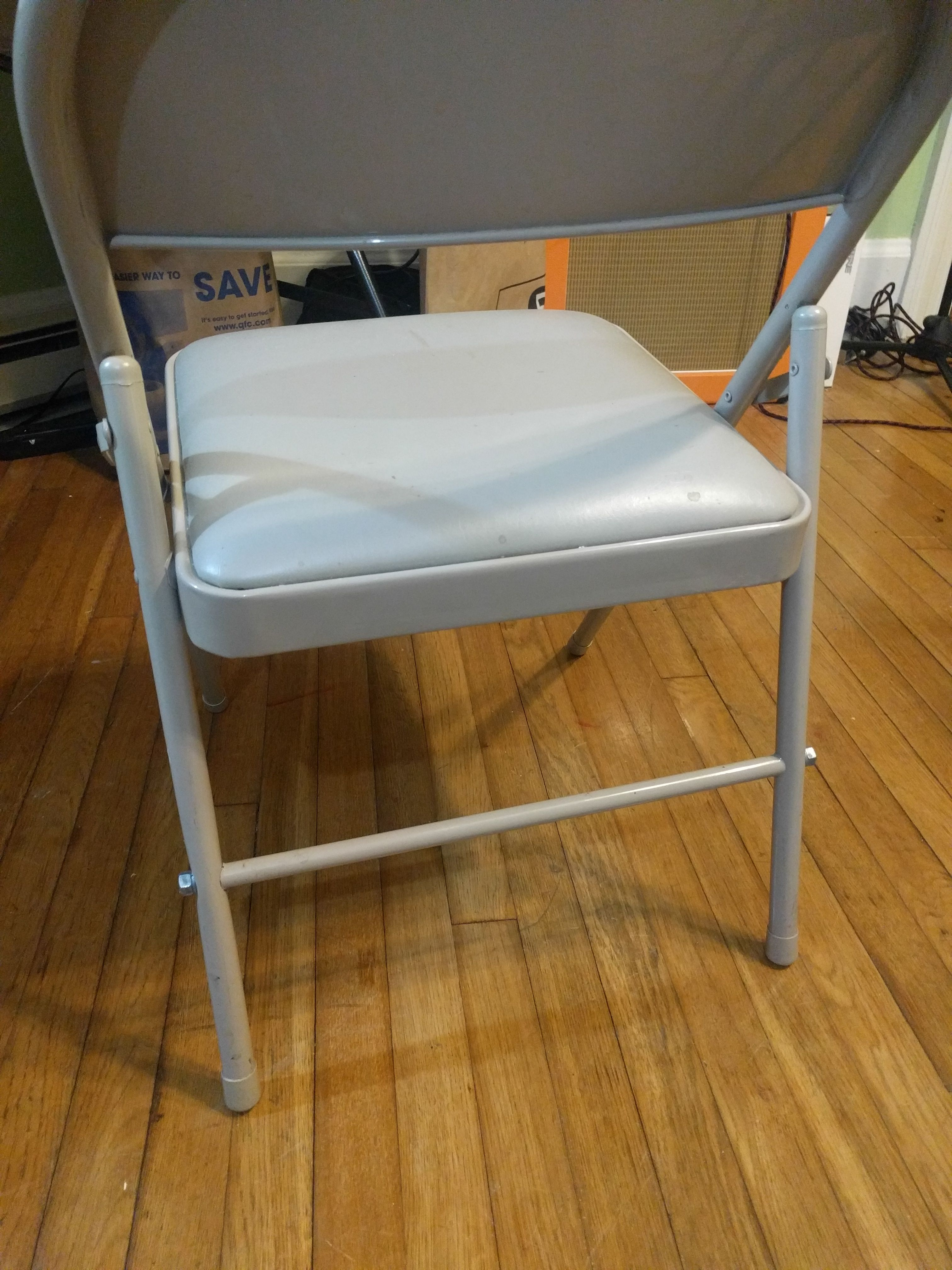 Quick And Dirty Folding Chair Repair (threaded Rod)