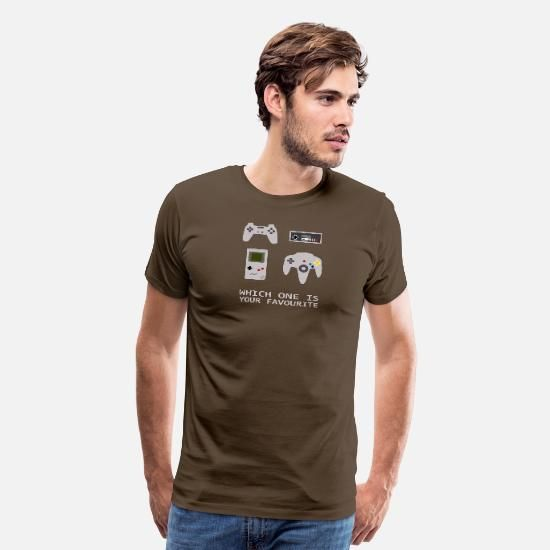 Wich One Is Your Favourite Men's Premium T-Shirt | Spreadshirt #nikolausgeschenkmann