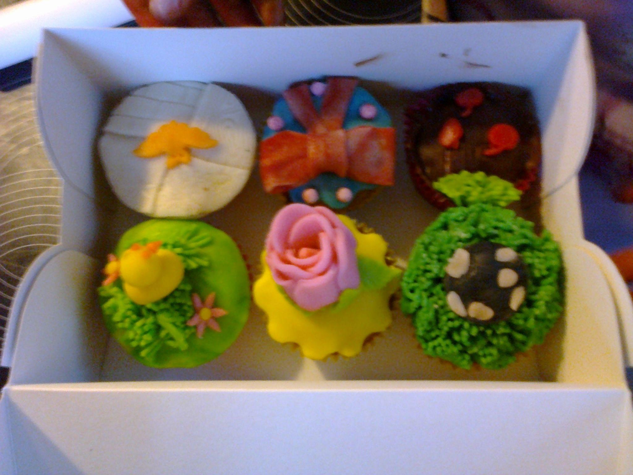 resultaat kinderfeestje cupcake versieren cupcakes. Black Bedroom Furniture Sets. Home Design Ideas